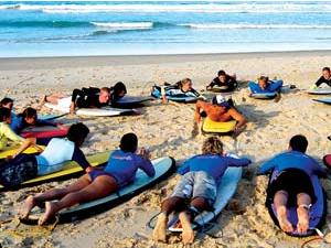 leçon surf australie