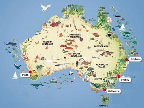 carte-australie-voyage